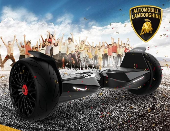 Lamborghini Hoverboard for you.