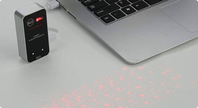 best laser keyboard