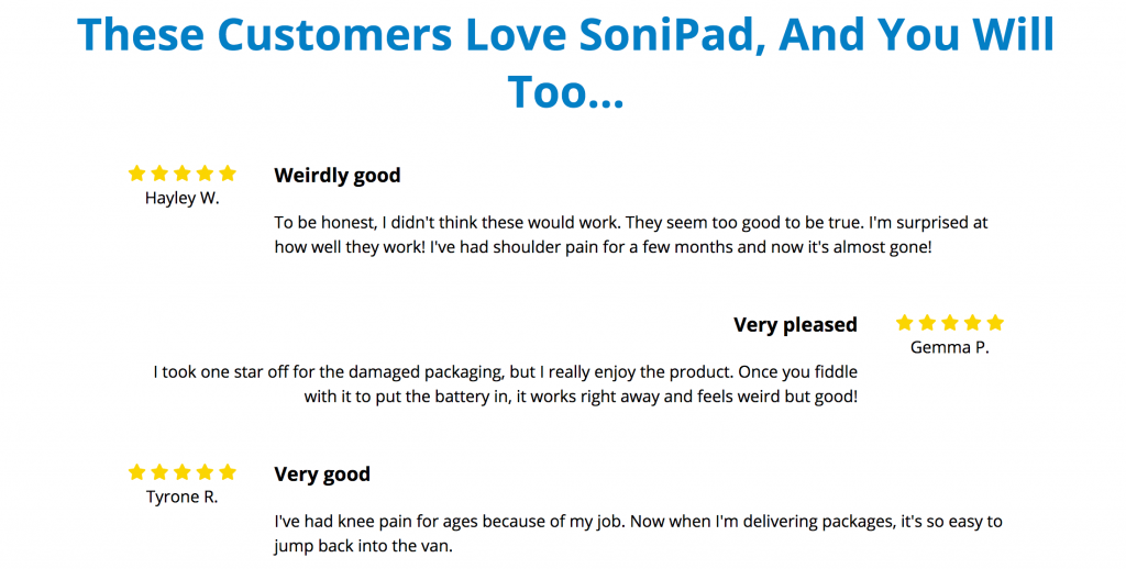 Sonipad reviews