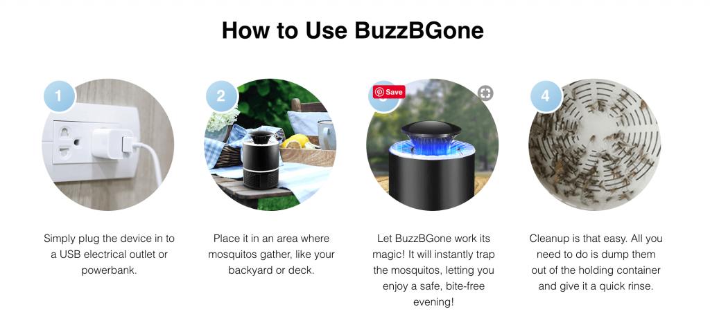 BuzzBGone Review