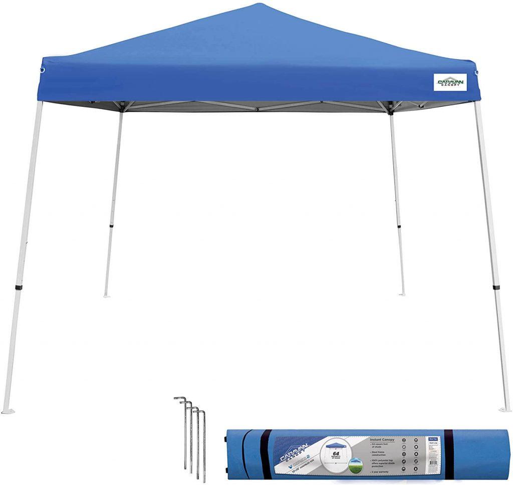 Caravan Canopy Sports 10 x 10 feet Base 8 x 8 feet Top